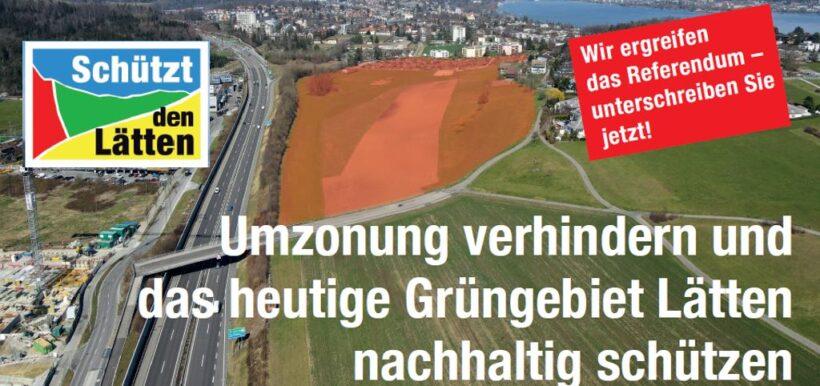 Referendum gegen Teilrevision Regionaler Richtplan Zimmerberg